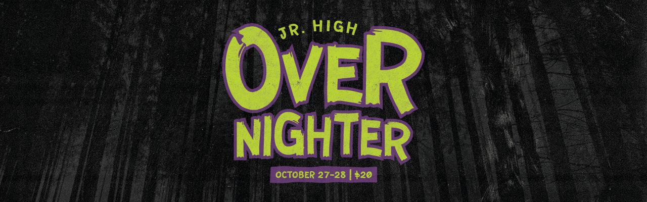 Jr. High Overnighter 2017