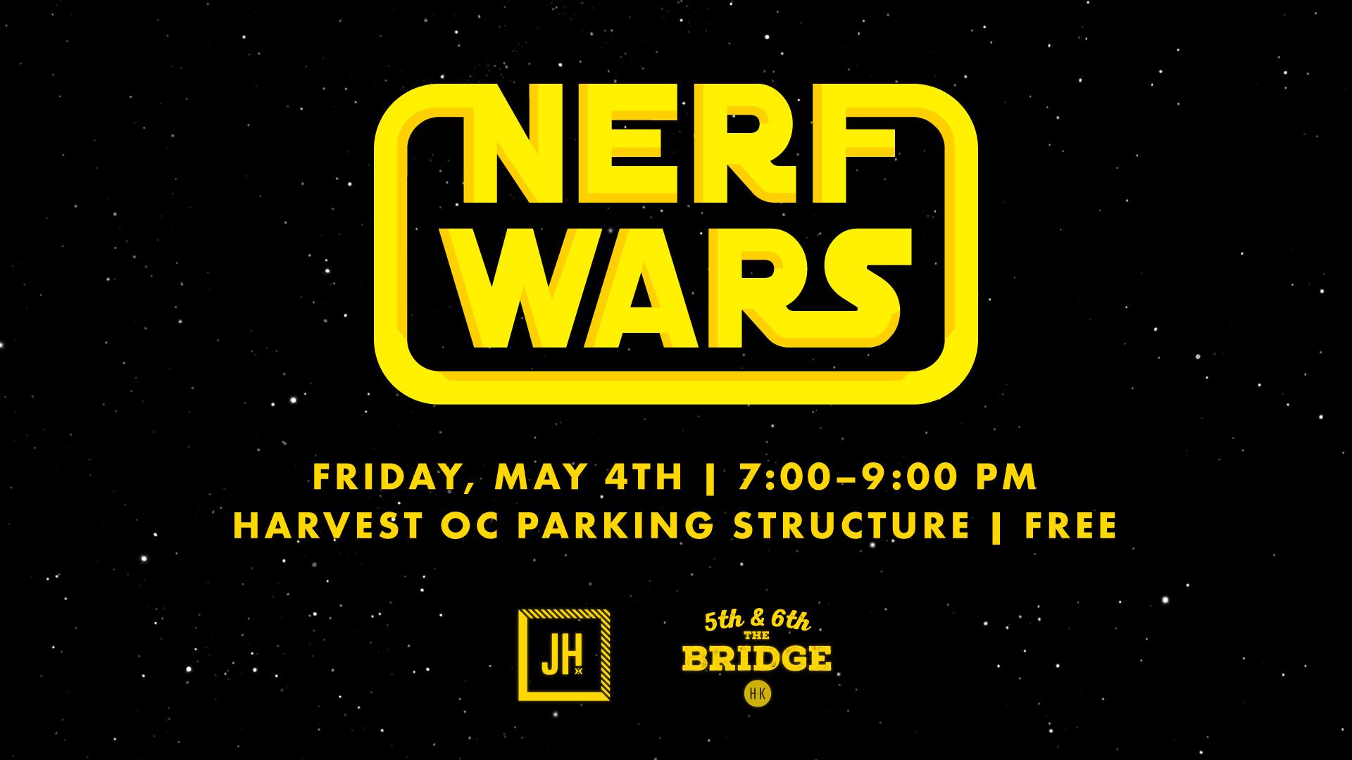 OC Nerf Wars 2018