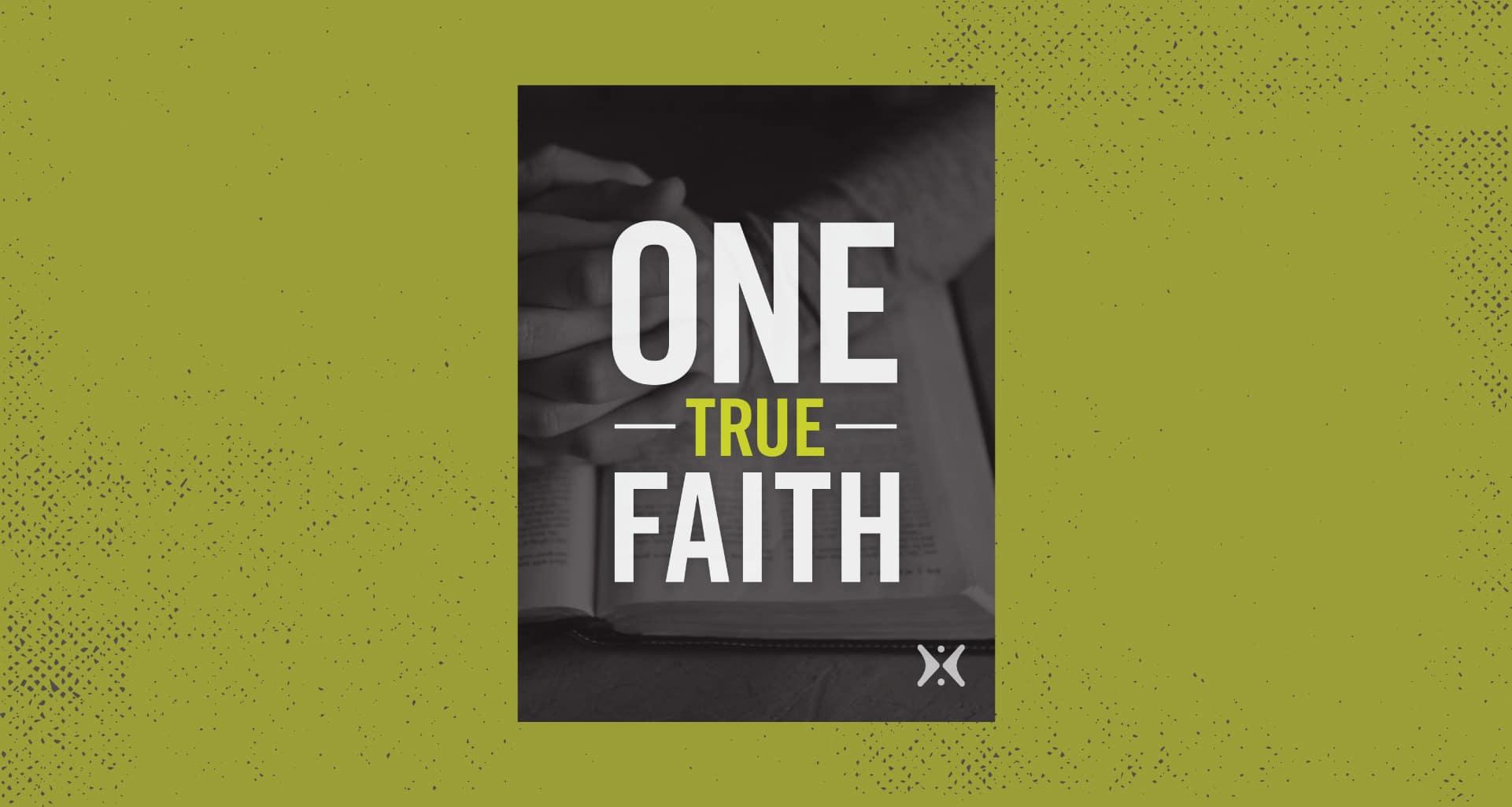 one true faith greg laurie e-book cover