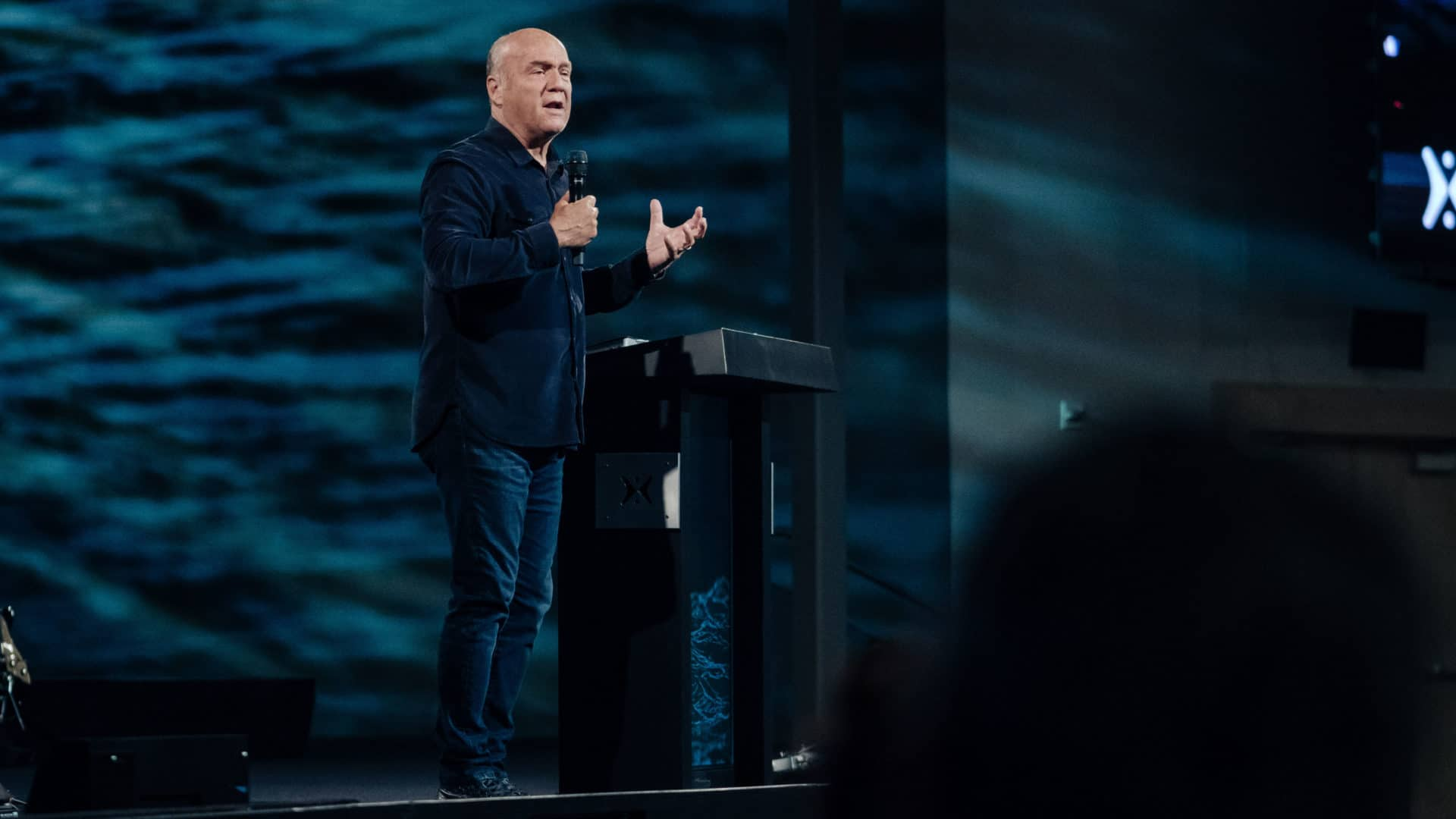 "Pastor Greg Laurie shares a message from 1 Peter 5 and Philippians 4 titled ""God's Answer to Fear, Worry, and Anxiety, Part 2"" in our Sunday Morning"" series at Harvest Christian Fellowship."