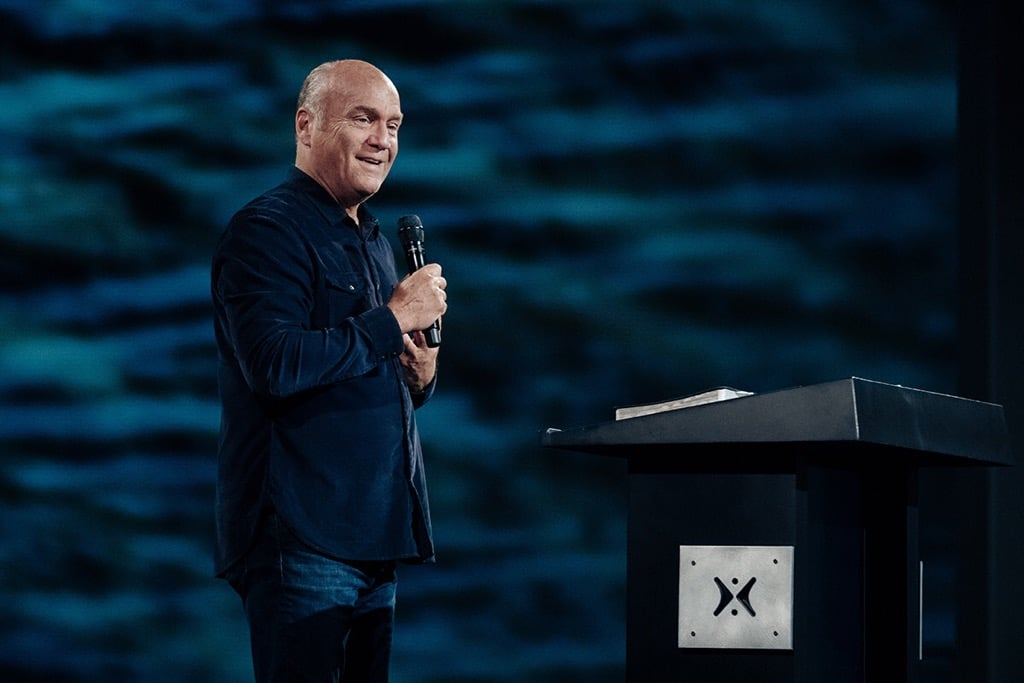"Pastor Greg Laurie shares a message from John 14 and Matthew 14 titled ""God's Answer to Fear, Worry, and Anxiety"" in our Sunday Morning"" series at Harvest Christian Fellowship."
