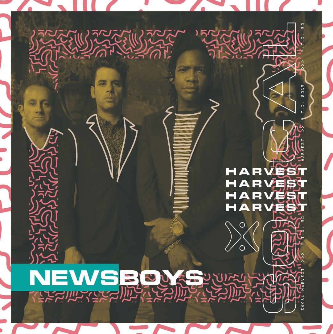 Newsboys at 2019 SoCal Harvest