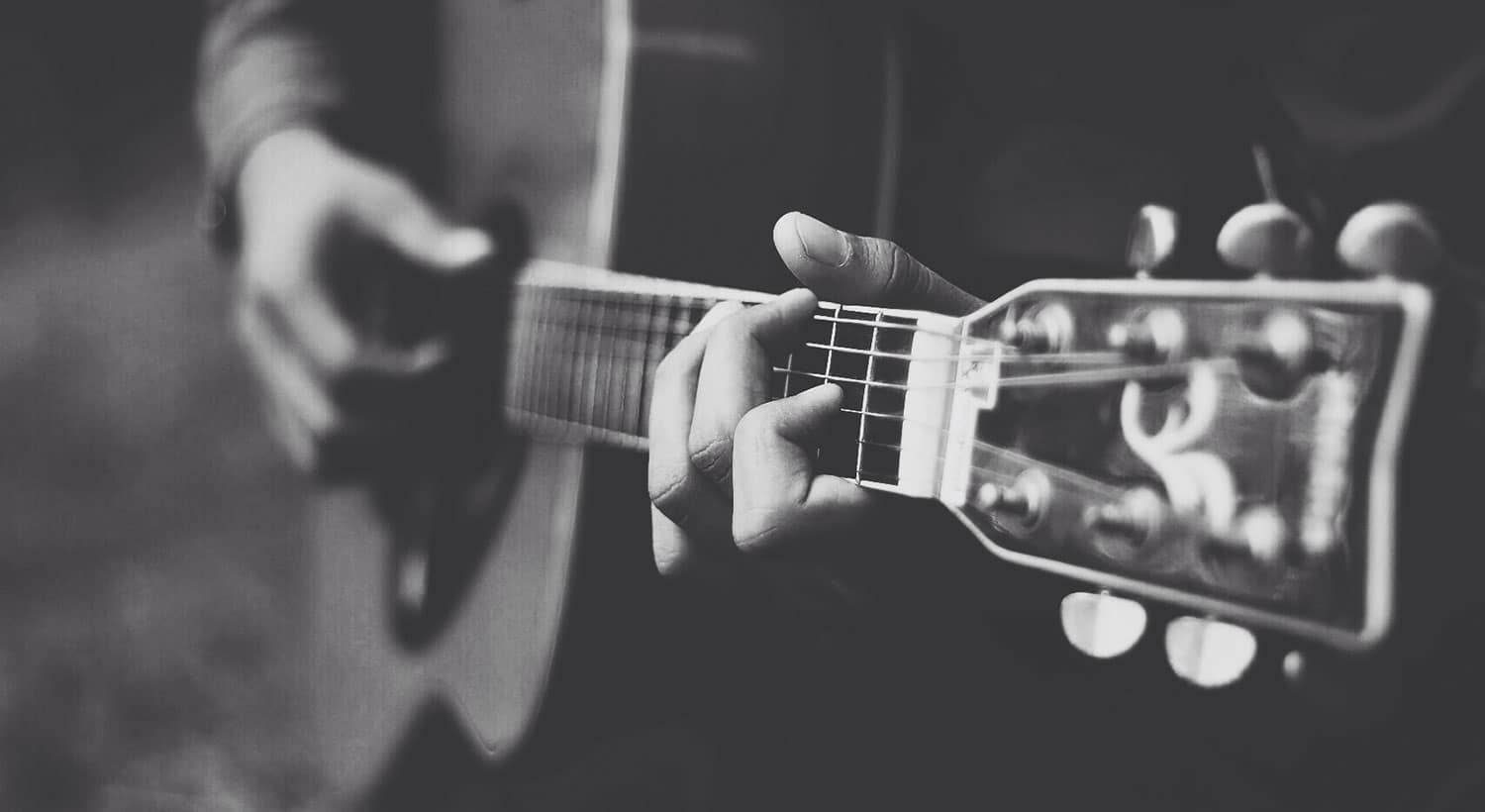 Playing guitar on Greg Laurie's Johnny Cash blog