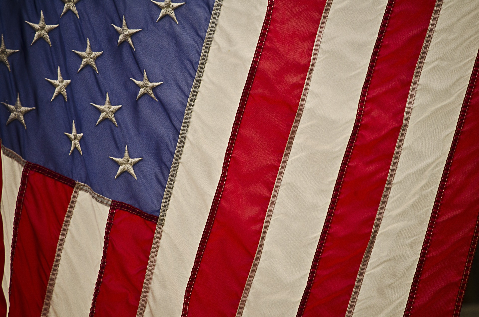 US flag for Greg Laurie's 4th of July blog