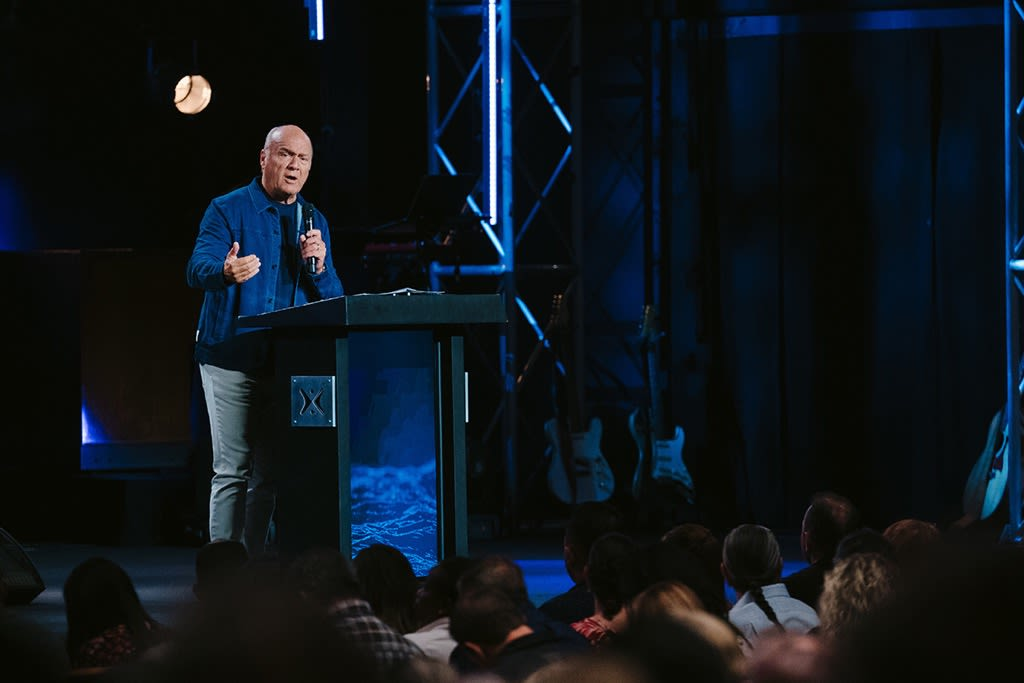 "Greg Laurie shares a message from Matthew 6 and Philippians 4 titled ""God's Answer to Fear, Worry, and Anxiety, Part 3"" at Harvest Christian Fellowship."