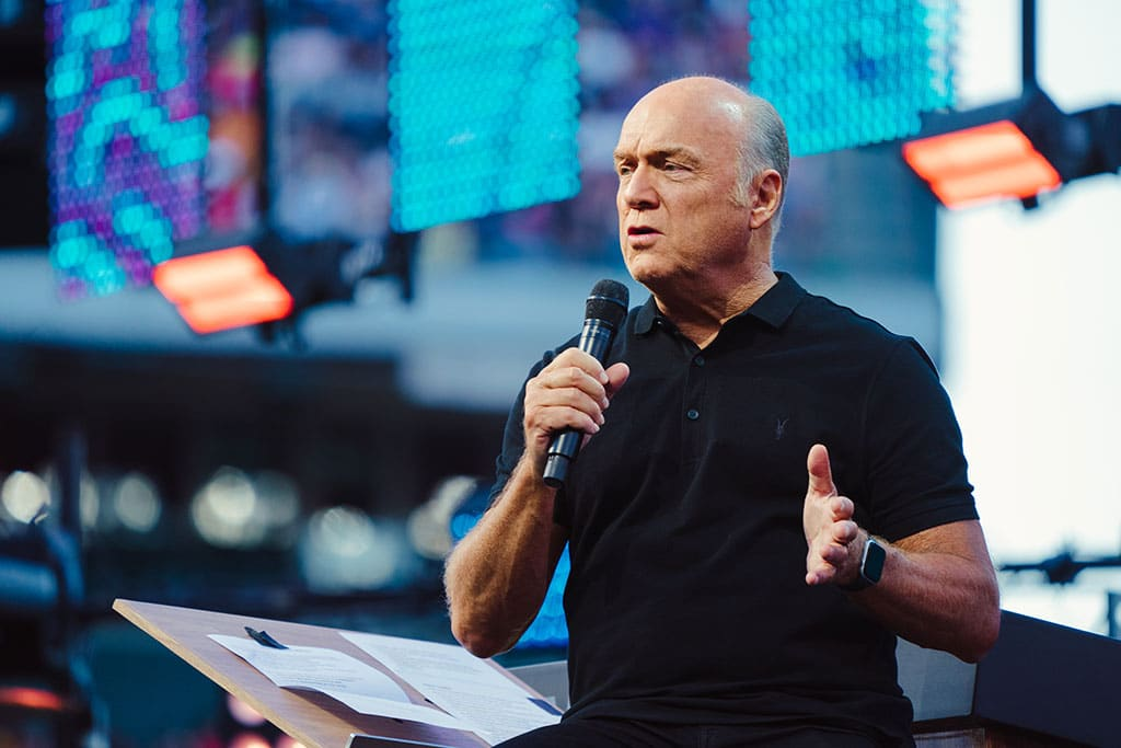 Greg Laurie at SoCal Harvest 2019