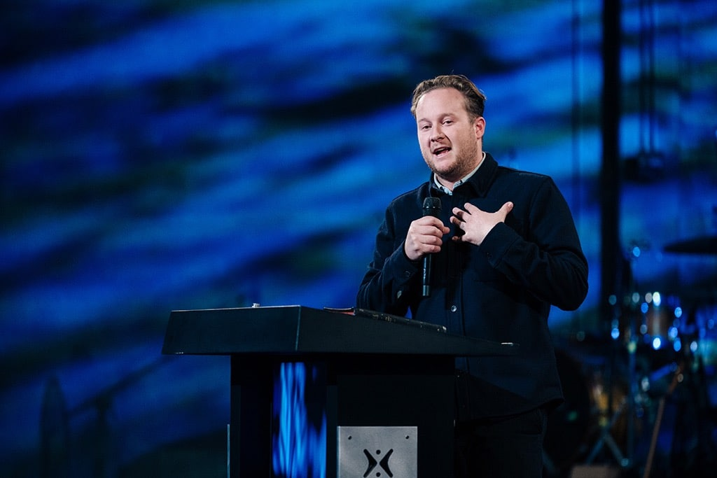 Jonathan Laurie preaching Life After Death at Harvest Christian Fellowship