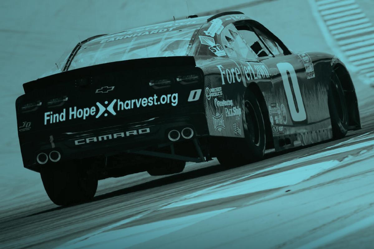Jeff Earnhardt's 0 car