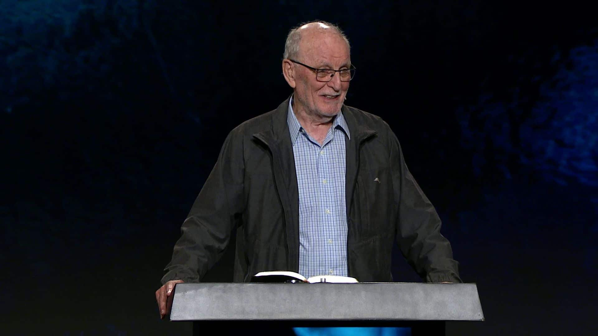 """Pastor Stuart Briscoe shares a message from Ephesians 1 titled """"A Prayer for Gods People"""" in our Wednesday evening seriesatHarvest Christian Fellowship."""
