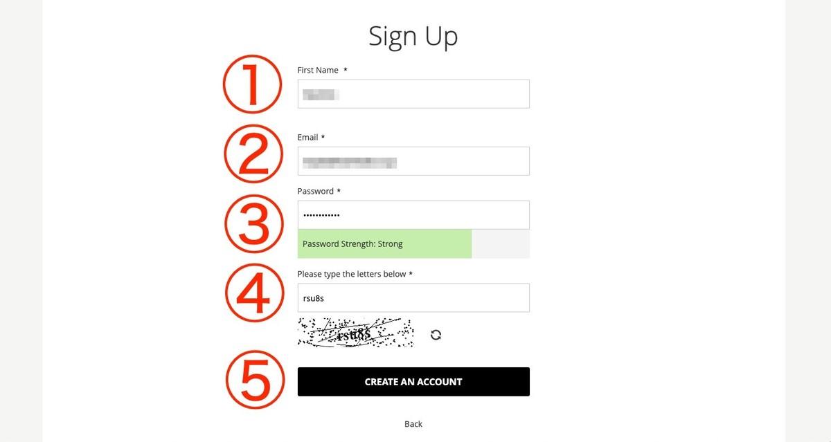 introbrand(イントロブランド)登録情報の入力