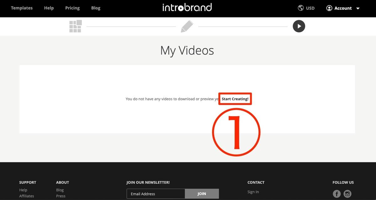 introbrand(イントロブランド)の動画作成