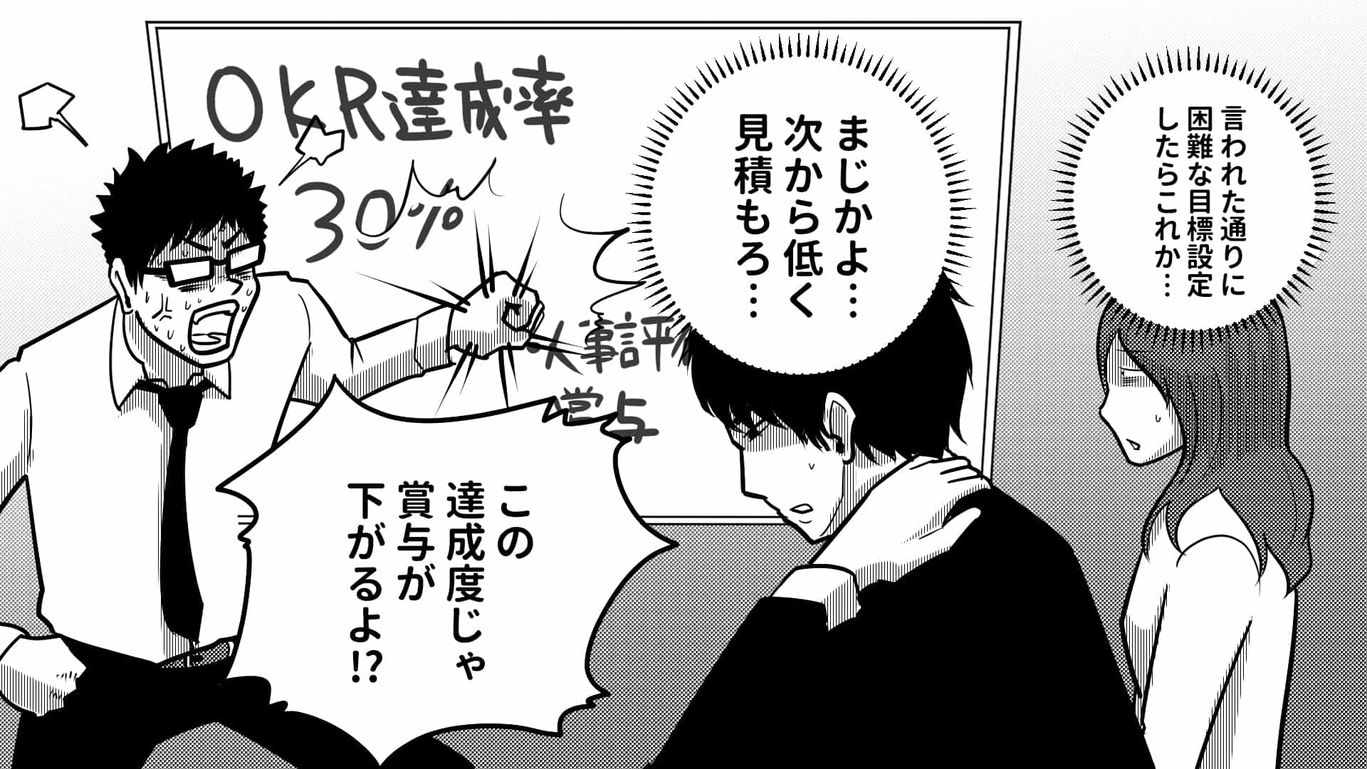 OKR 評価・給与に影響