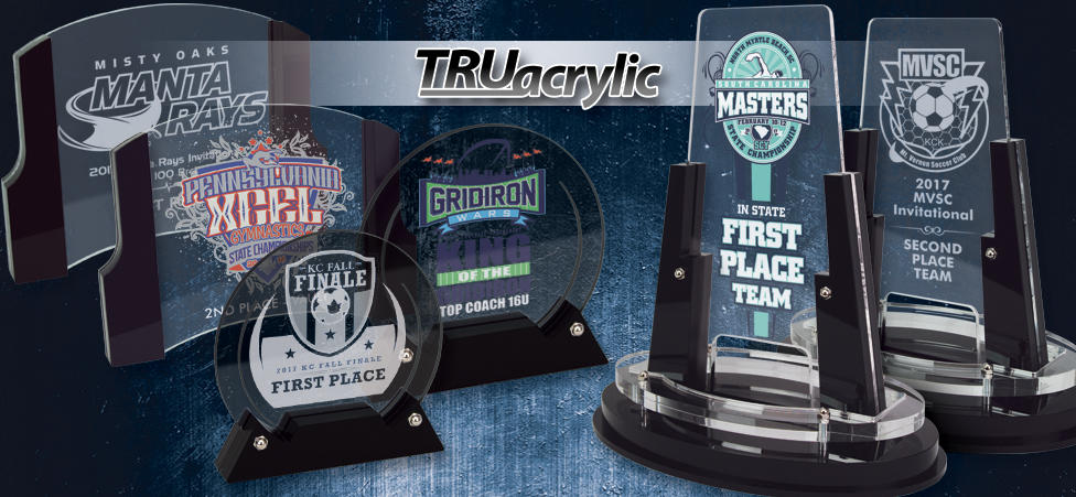 EXCLUSIVE TRUacrylics from Hasty Awards