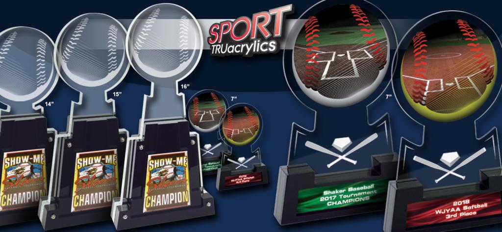 BASEBALL/SOFTBALL SPORT TRUacrylics