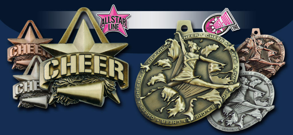 STOCK CHEER MEDALS