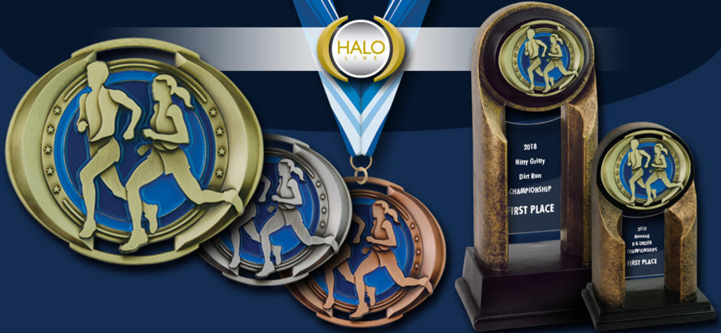 2018 HALO MEDALS AND RESINS