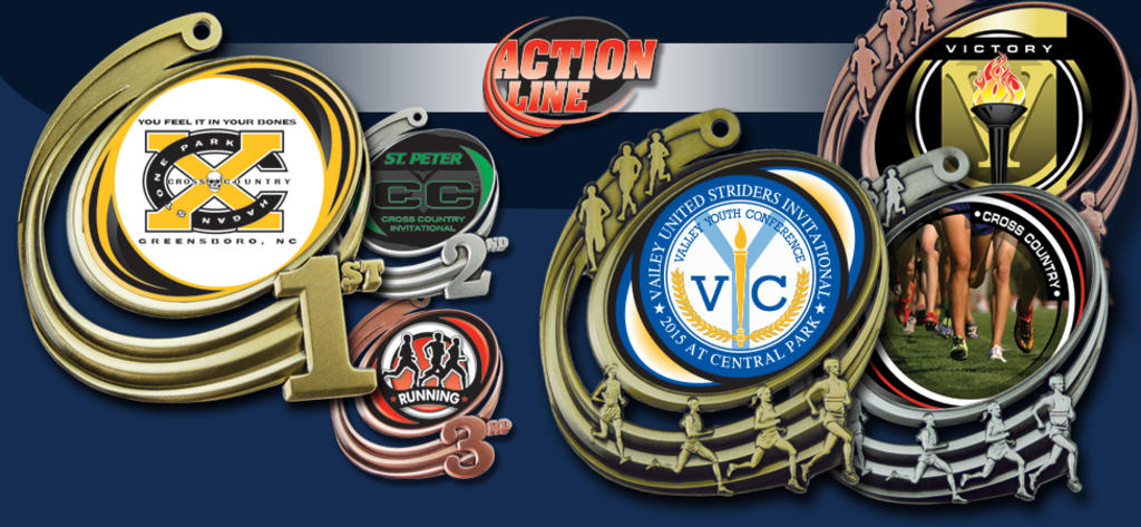 ACTION INSERT MEDALS