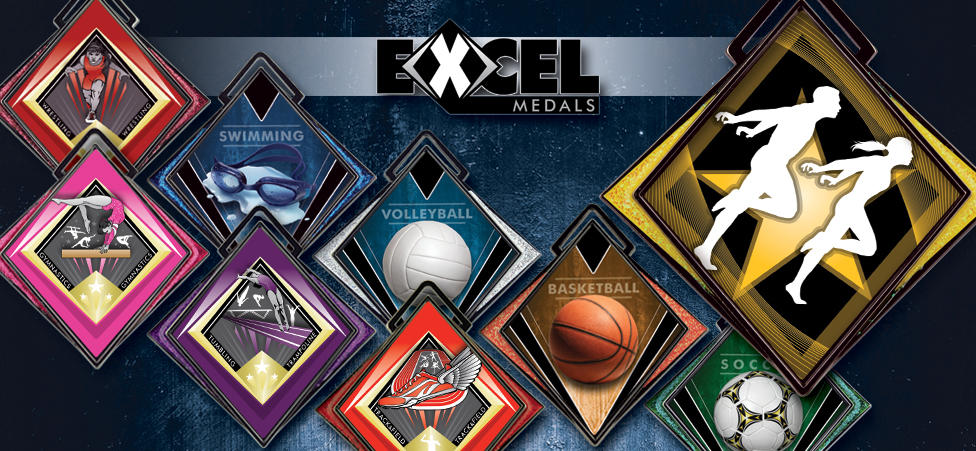 2019 EXCEL INSERT MEDALS