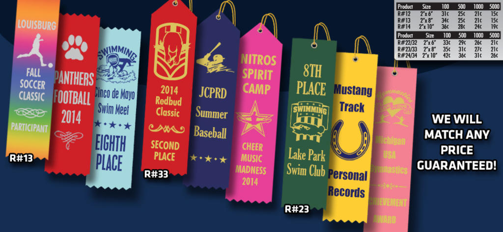 CUSTOM RIBBONS