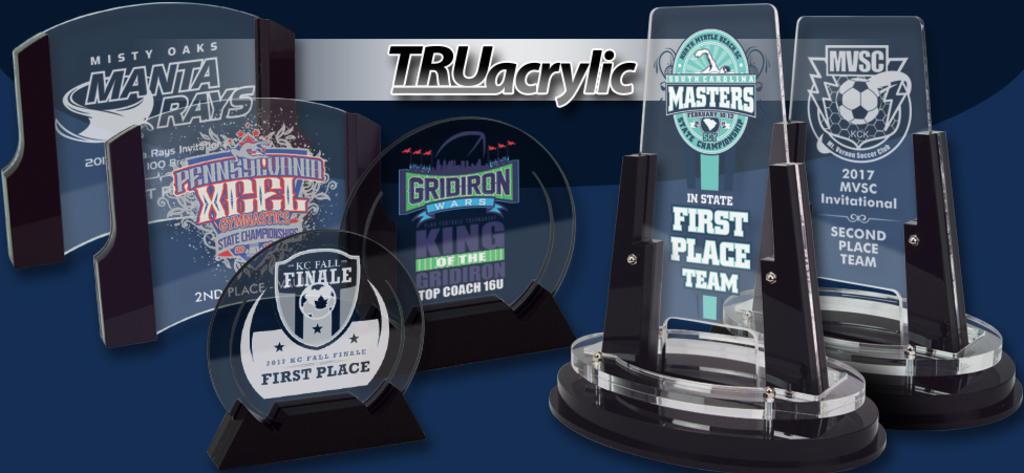 TRUacrylics from Hasty Awards