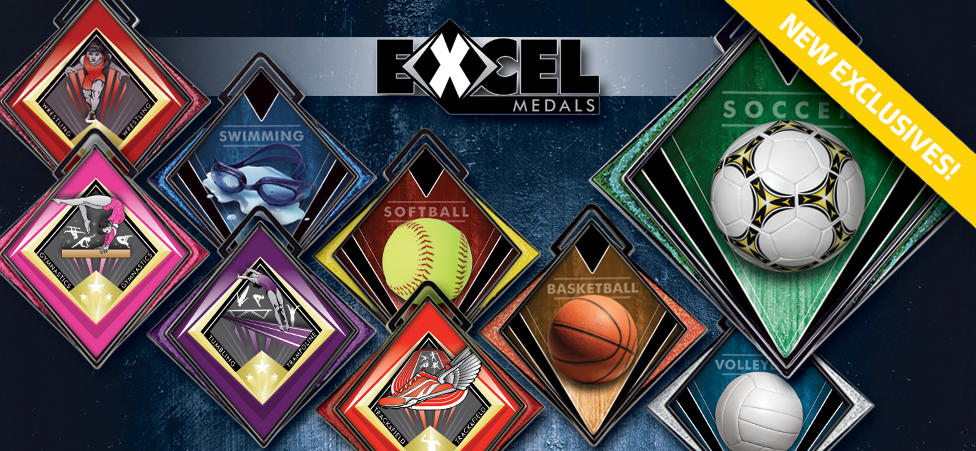 NEW EXCEL INSERT MEDALS!