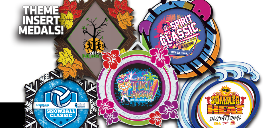 NEW THEME INSERT MEDALS!