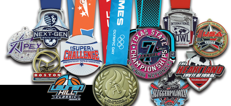 TOP OF THE LINE CUSTOM MEDALS!