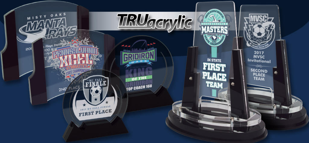 TRUacrylics from Hasty Awards