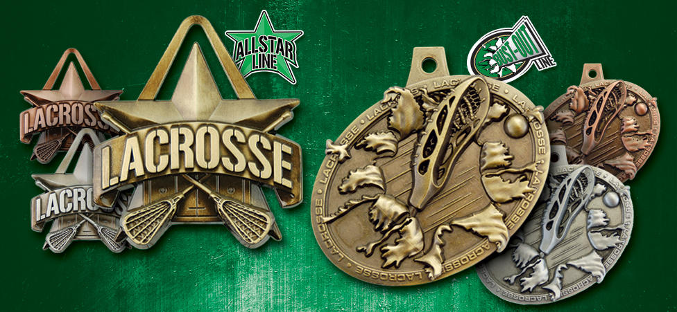 STOCK LACROSSE MEDALS