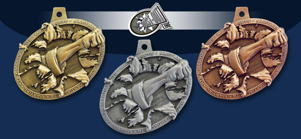 BUST-OUT MEDALS