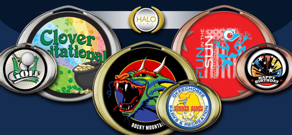 HALO INSERT MEDALS