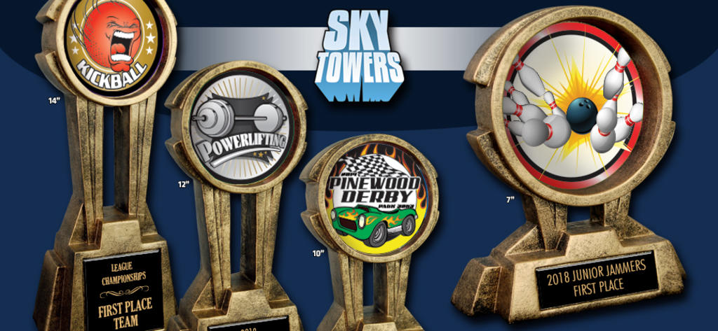 SKY TOWER RESIN AWARDS