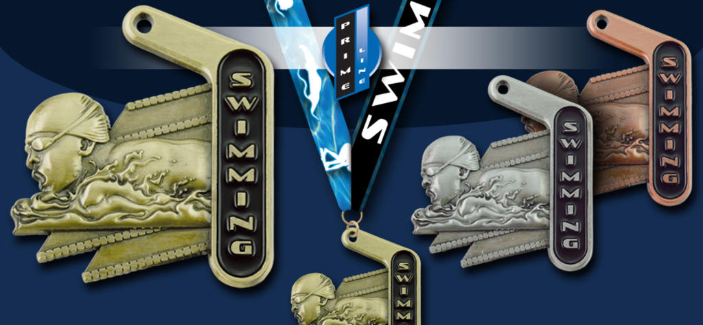 2018 PRIME SWIMMING MEDALS