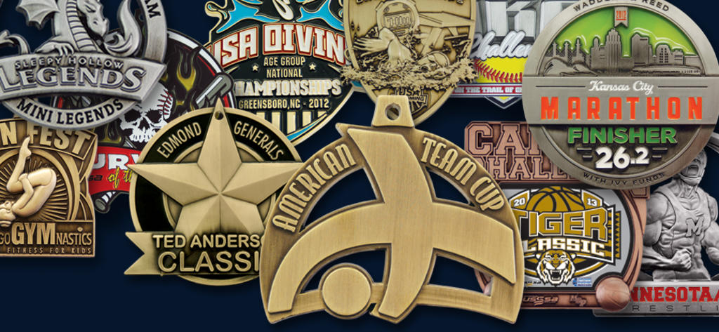 LET US HELP YOU CREATE YOUR OWN CUSTOM MEDALS!