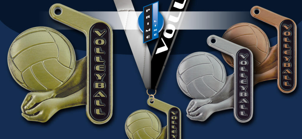2018 PRIME VOLLEYBALL MEDAL