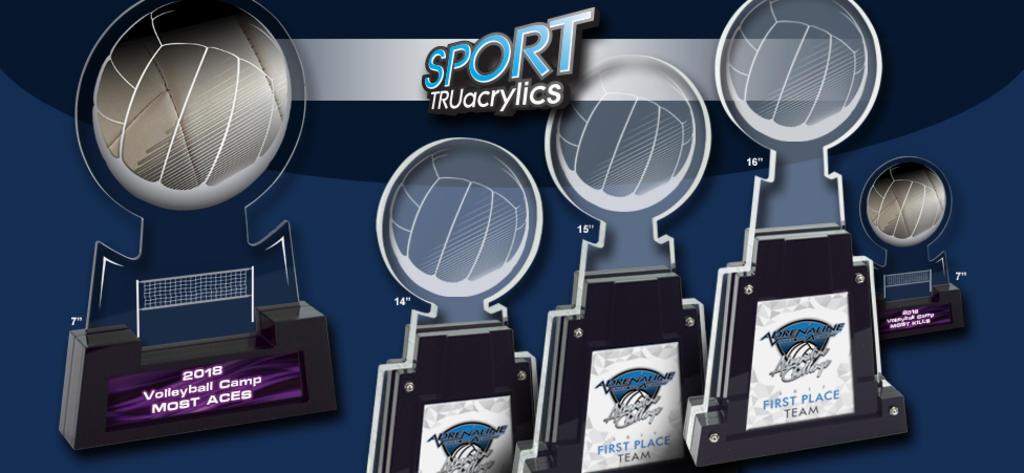 VOLLEYBALL SPORT TRUacrylics