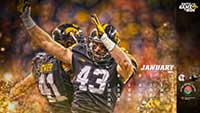 Iowa Football December Wallpaper