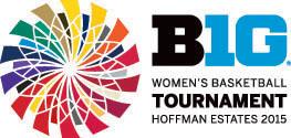 2015 Big Ten Women's Basketball Tournament logo