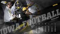 Iowa Football August Wallpaper