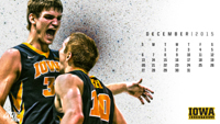 Iowa Men's Basketball December Wallpaper