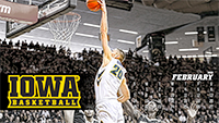 Iowa Men's Basketball February Wallpaper