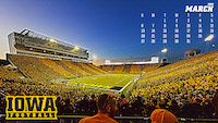Iowa Football March Wallpaper