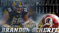 Iowa Brandon Scherff Wallpaper