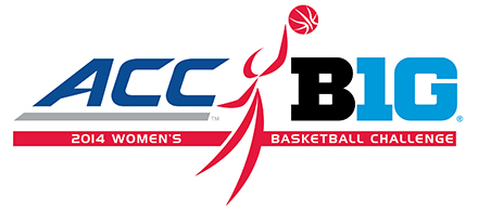 2014 ACC/Big Ten Challenge logo