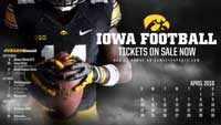 Iowa Football April Thumbnail