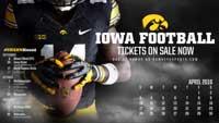 Iowa Football April Thumbnail