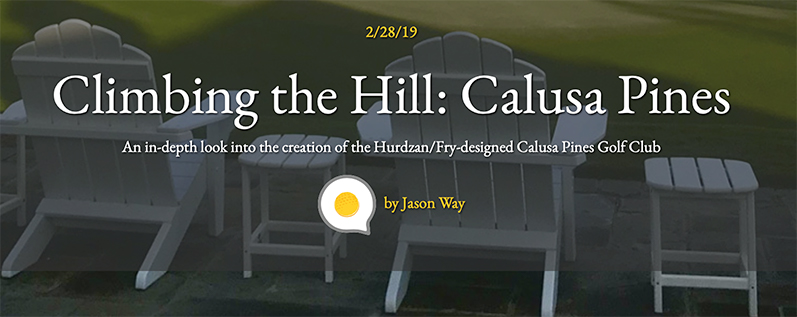 Climbing the Hill: Article about Calusa Pines Golf Course