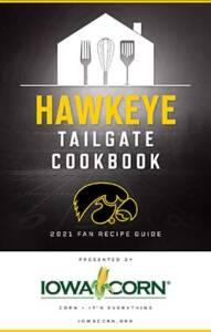 Cover image of the Iowa Corn Hawkeye Tailgate Cookbook