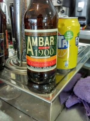 Cerveza Ambar 1900