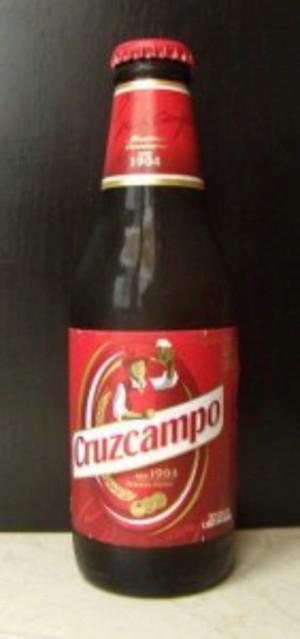 Cerveza Cruzcampo Pilsen